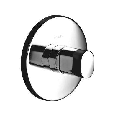 Oblo 1-Handle Thermostatic Valve Trim Kit in Polished Chrome (Valve Not Included)