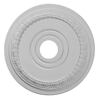 17-1/2 in. OD x 3-5/8 in. ID x 1 in. P (Fits Canopies up to 5-5/8 in.) Munich Polyurethane Ceiling Medallion