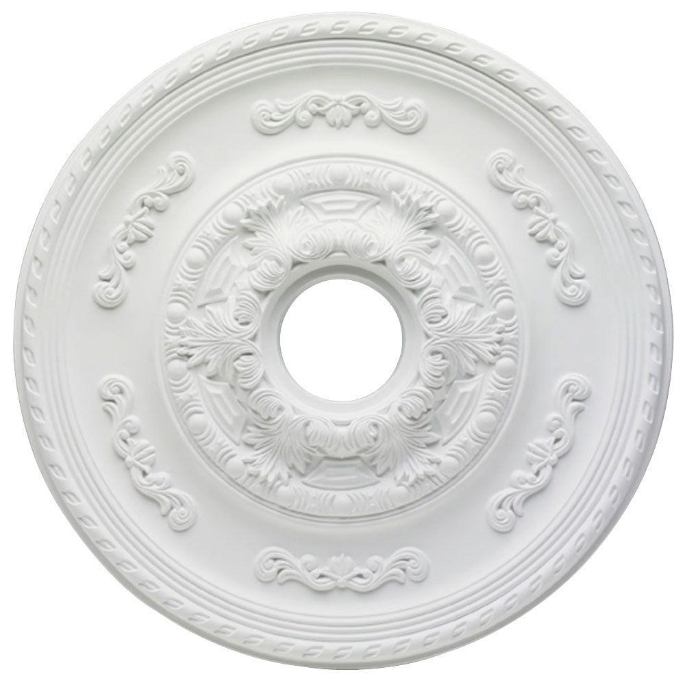Sofia 21 in. White Ceiling Medallion