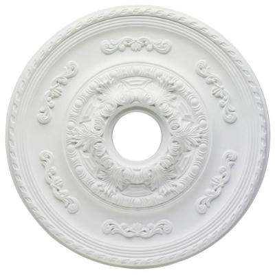 Sofia 21 in. White Ceiling Medallion