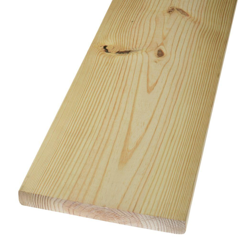 2 in. x 12 in. x 8 ft. #2 Prime Kiln Dried Southern Yellow Pine Lumber