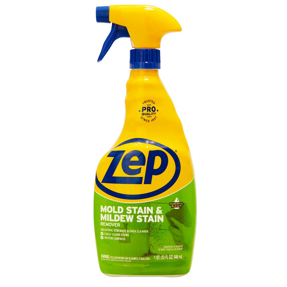 Zep 32 Oz Mold Stain And Mildew Stain Remover