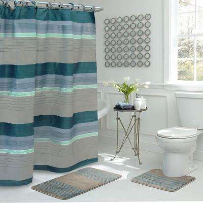 Olefin - Shower Curtains - Shower Accessories - The Home Depot
