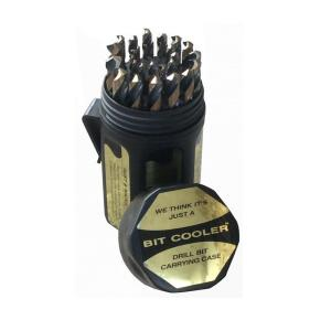 Drill America Heavy Duty High Speed Steel Drill Bit Set in Round Case (29-Pieces) by Drill America