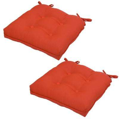 Ruby Tweed Outdoor Seat Cushion (2-Pack)