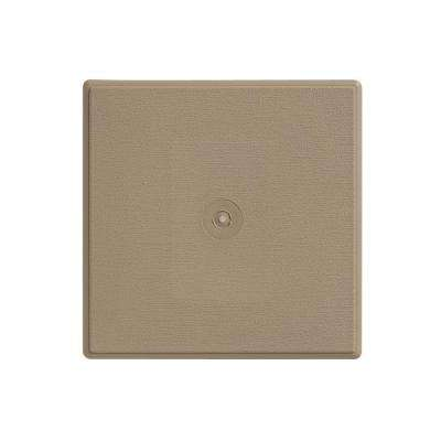 6.625 in. x 6.625 in. Khaki D4 and D5 Surface Mounting Block