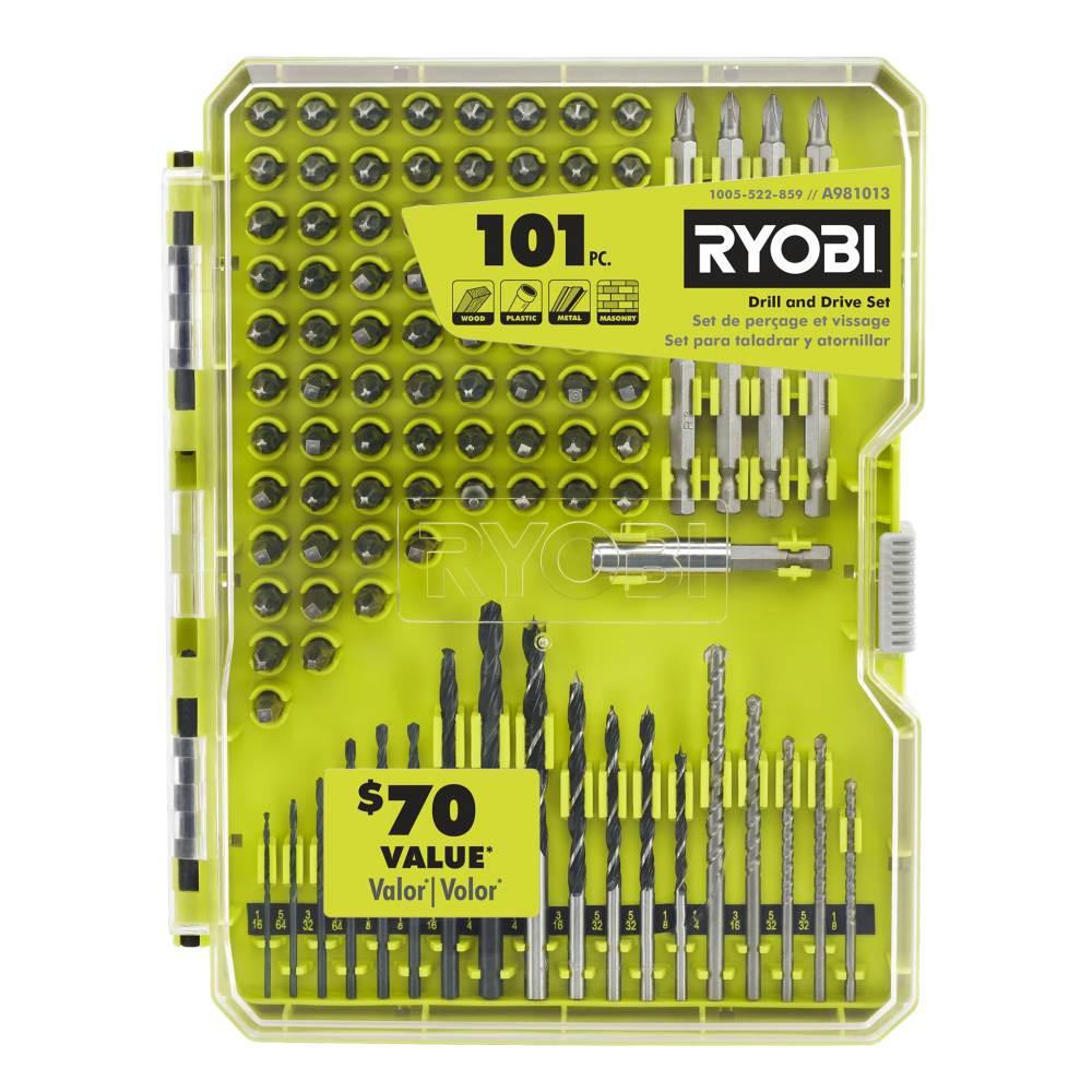 Ryobi A981013 101-Piece Drill and Drive Set