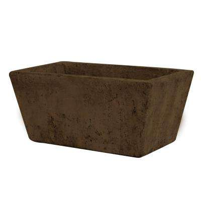 4-1/4 in. x 9-1/2 in. Cement Tapered Planter