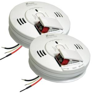 kidde co smoke combination alarms 704763 64_300 kidde worry free hardwired 120 volt interconnected combination  at n-0.co