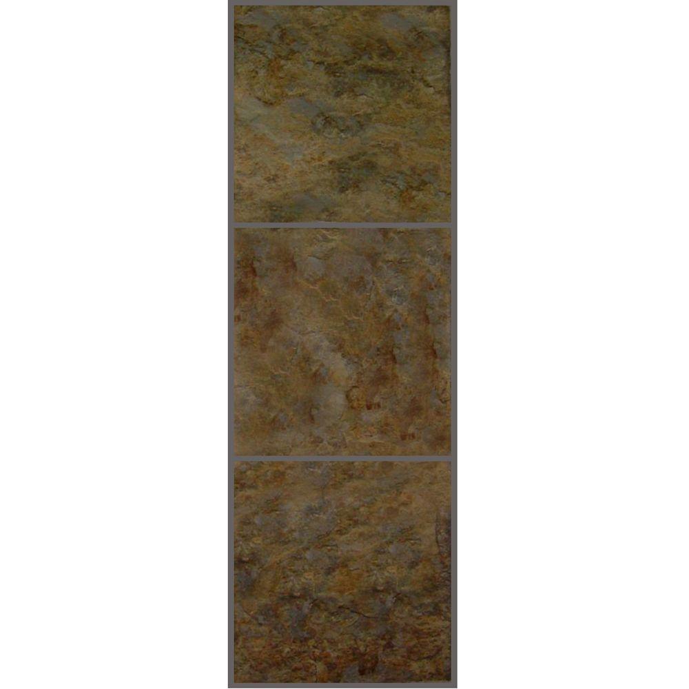 Allure 12 in. x 36 in. Patina Luxury Vinyl Tile Flooring (24 sq. ft. / case)