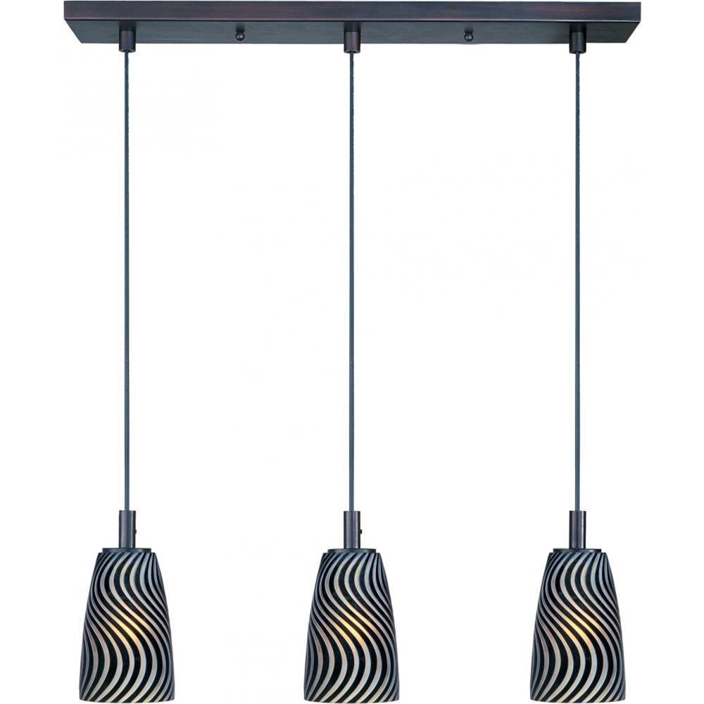 sc 1 st  Home Depot & CLI Carte 3-Light Pendant-E93043-51BZ - The Home Depot azcodes.com