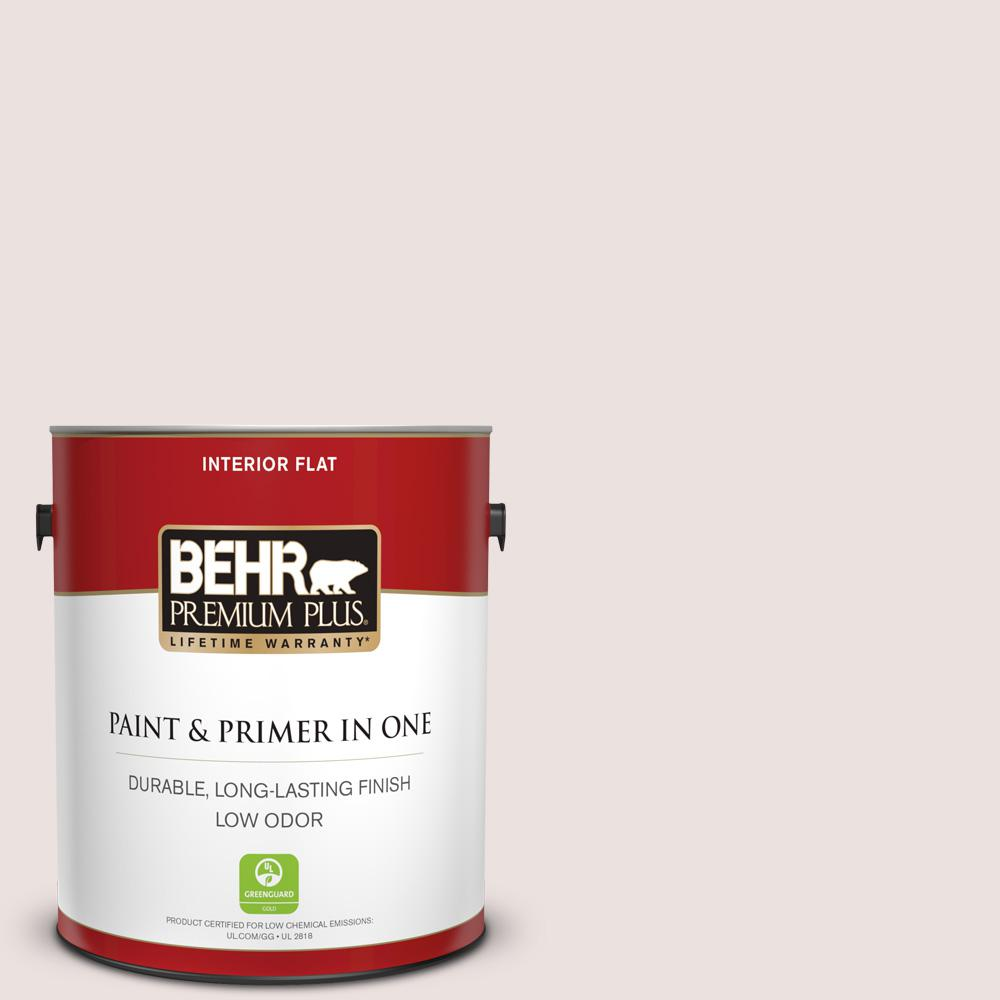 1 gal. #140E-1 Patient White Flat Low Odor Interior Paint and