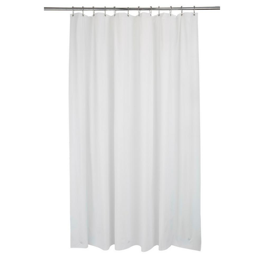 Bath Bliss 70 in. x 84 in. Shower Liner Xt-L White