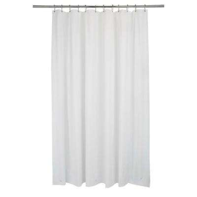 70 in. x 84 in. Shower Liner Xt-L White