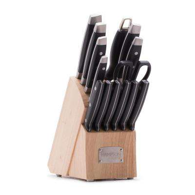 Continental 15-Piece Cutlery Block Set