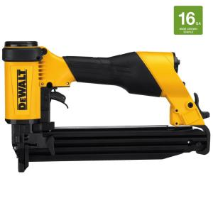 Dewalt 16-Gauge Pneumatic 1 inch Wide Crown Lathing Stapler by DEWALT