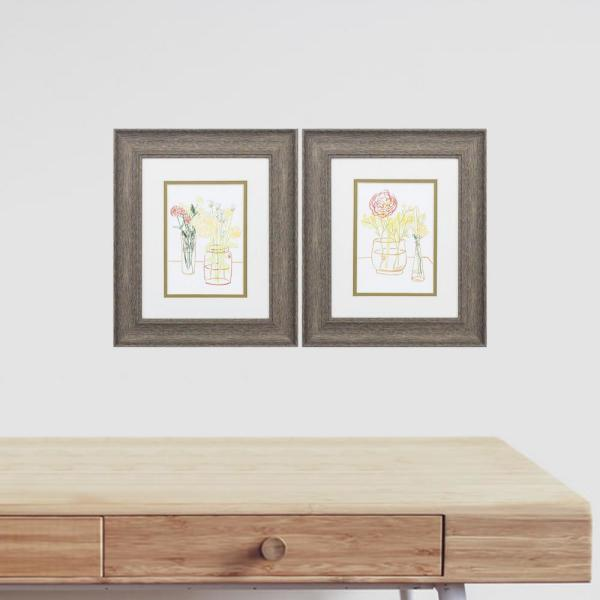 Homeroots Victoria 8 In X 10 In Black Gallery Frame Set Of 4 365151 The Home Depot