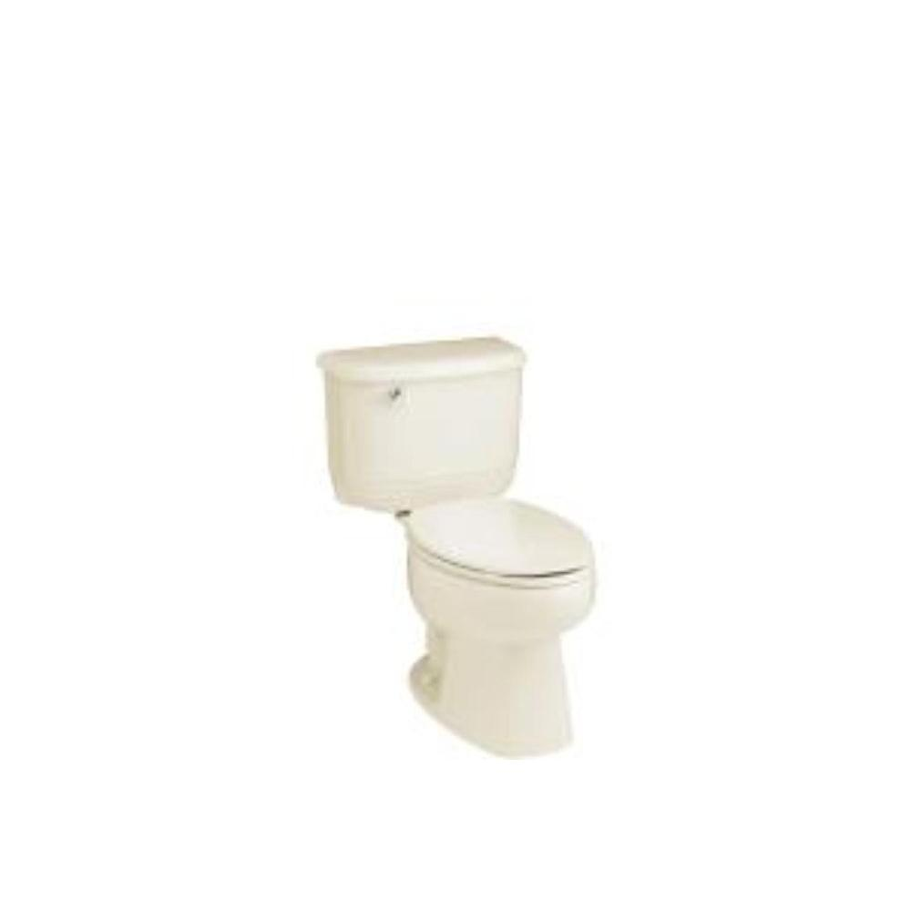 STERLING Riverton 2-Piece Elongated Toilet in Almond-DISCONTINUED