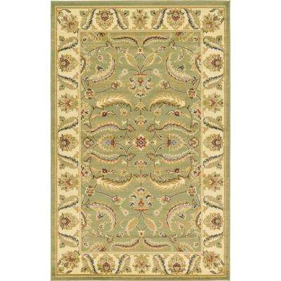 Voyage Hickory Green 5' 0 x 8' 0 Area Rug