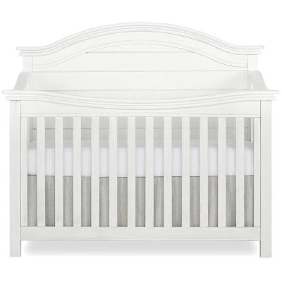 Belmar Weathered White Curve 5-in-1 Convertible Crib