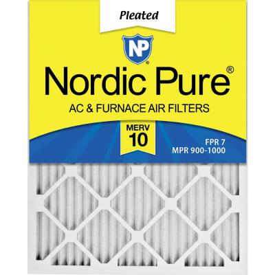 16  x 25 x 1  Dust Reduction Pleated MERV 10 - FPR 7 Air Filters (6-Pack)