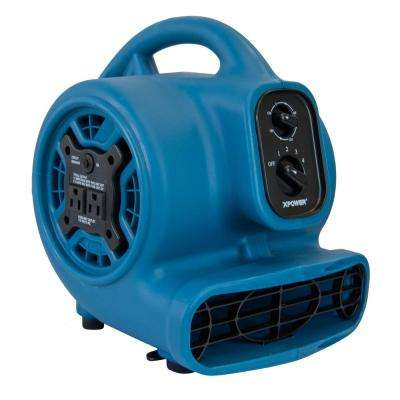 Freshen Aire 800 CFM 4 Speeds Scented Air Mover Blower Fan with Timer and Power Outlets