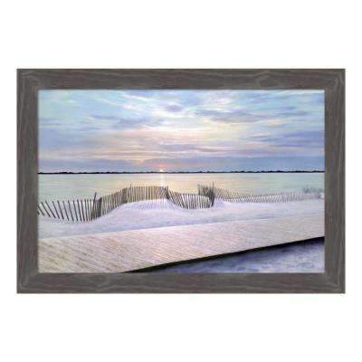 """Twilight Time"" by Diane Romanello Framed Canvas Wall Art"