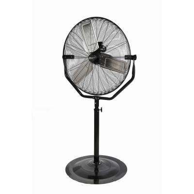 Adjustable-Height 30 in. Easy-Assembly Pedestal Fan
