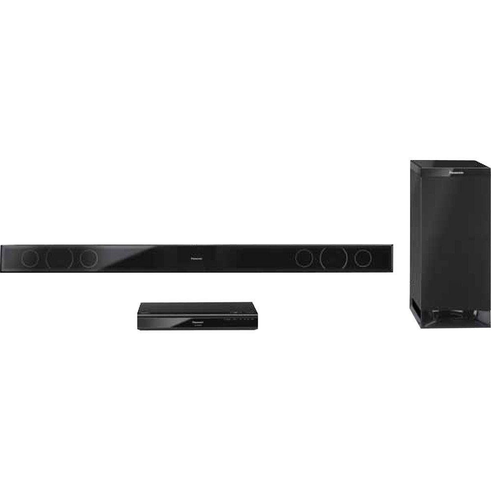 Panasonic 42 in. 2.1-Channel Switchable Sound Bar Audio System with Wireless Subwoofer-DISCONTINUED