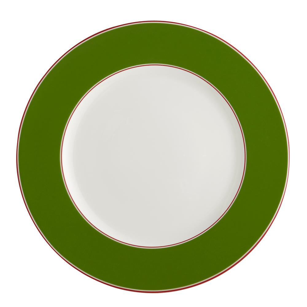 Auratic Color Theory- Evergreen Dinner Plate-15-00283