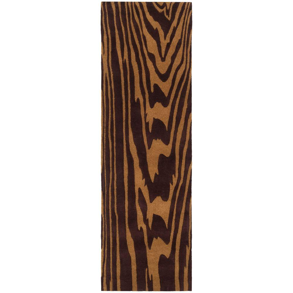 Artistic Weavers Tulelake Chocolate 2 ft. 6 in. x 8 ft. Runner
