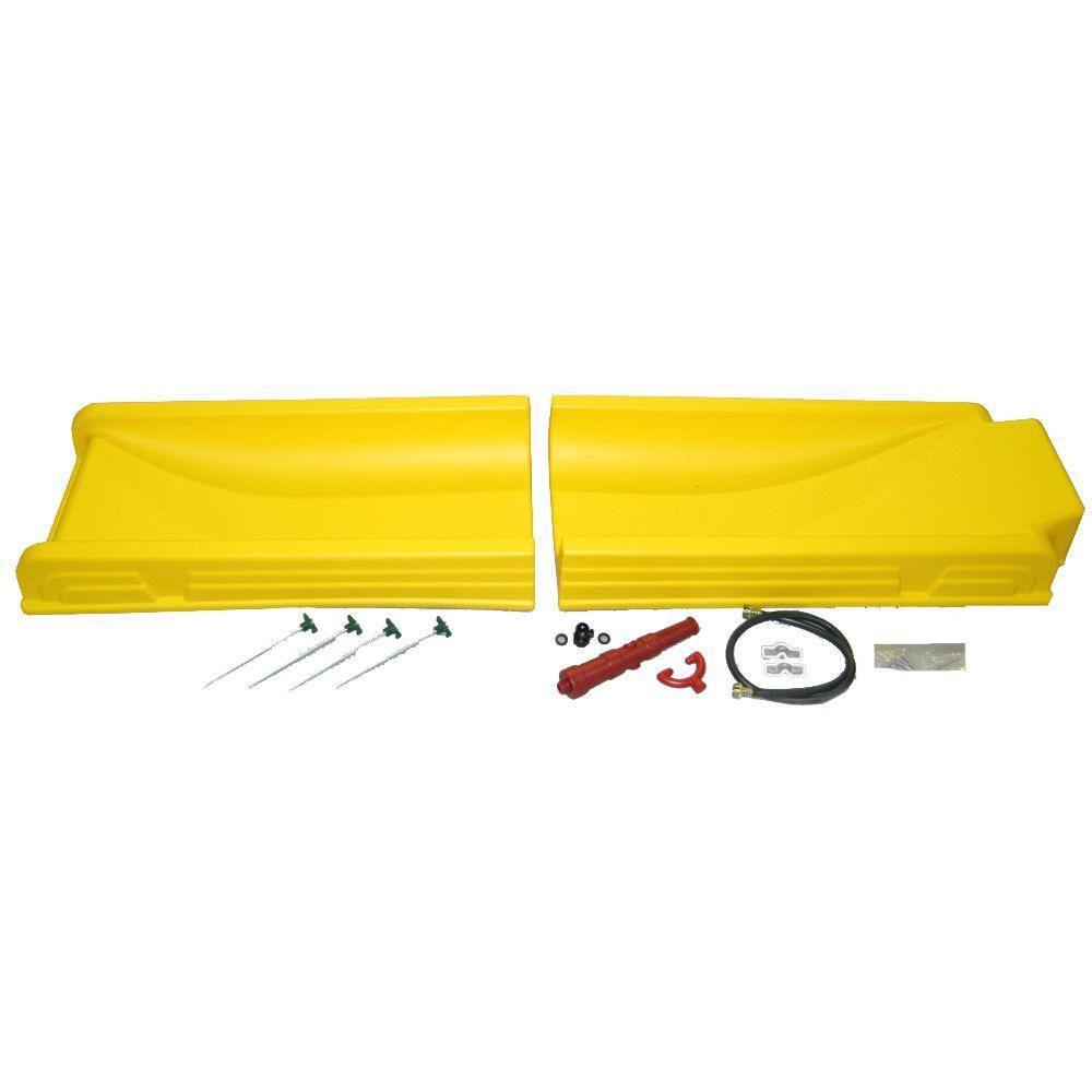 PlayStar Water Slide Kit, Yellow/Gold