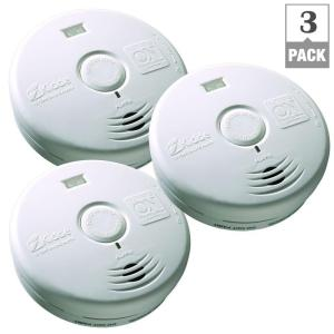 Kidde 10-Year Worry Free Battery Operated Smoke Detector with LED Escape Light-(Bundle of 3) by Kidde