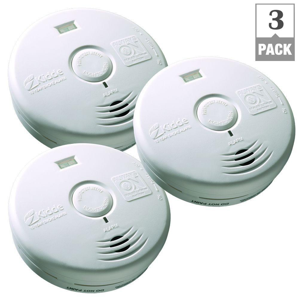 Kidde Smoke Detector Green Light Blinking Red
