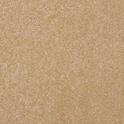 Carpet Sample - Kingship I - Color Beach House Texture 8 in. x 8 in.
