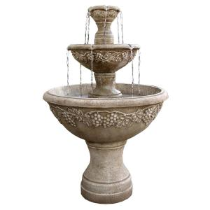 Florence Florence Trucast Napa Valley Tiered Fountain 7507