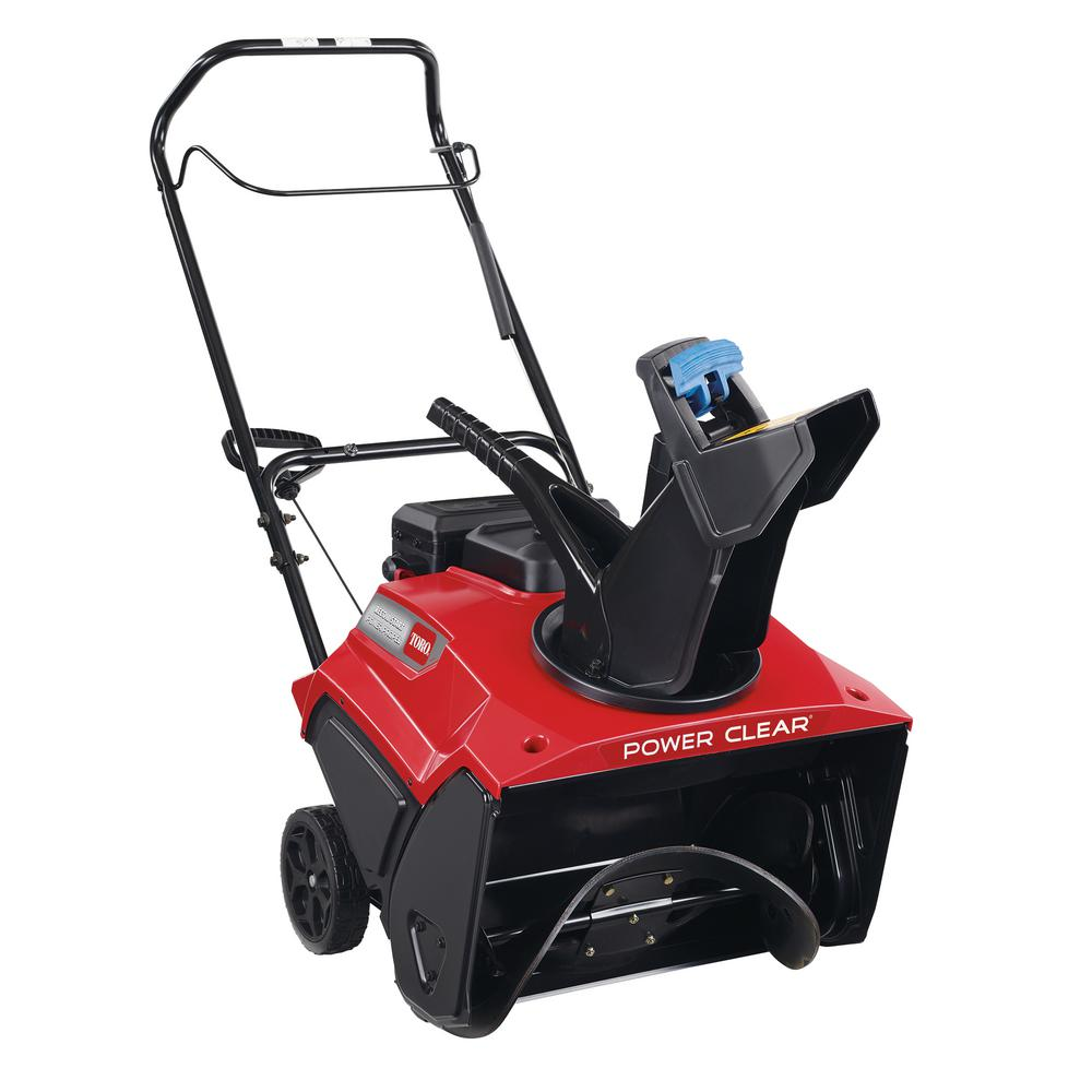 Toro Power Clear 821 R-C 21 in  252 cc Commercial Single-Stage Self  Propelled Gas Snow Blower