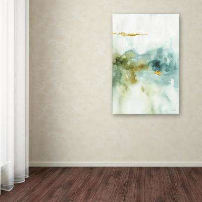 """47 in. x 30 in. """"My Greenhouse Abstract II"""" by Lisa Audit Printed Canvas Wall Art"""