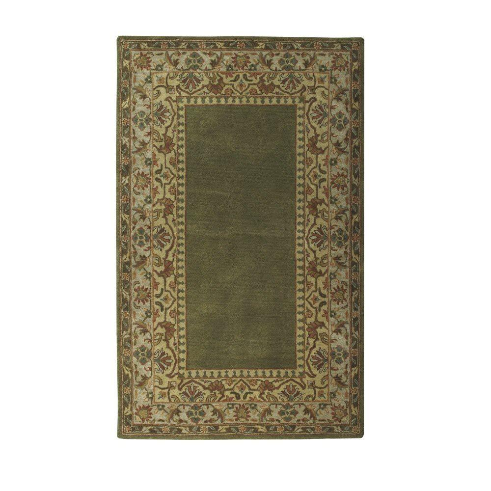 Home Decorators Collection Toulon Sage 2 ft. x 3 ft. Area Rug