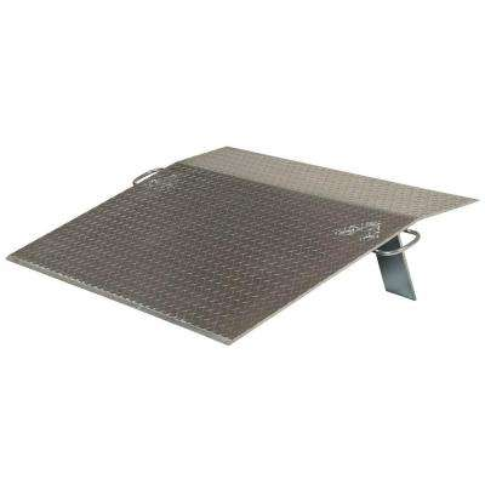 48 in. x 42 in. x 38 in. 3,000 lb. Aluminum Economy Dock Plate
