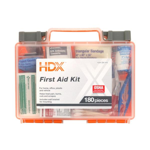 180-Piece First Aid Kit
