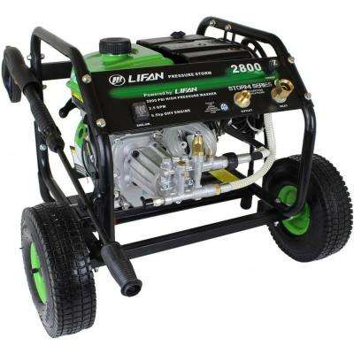 Pressure Storm Series 2,800 psi 2.3 GPM AR Axial Cam Pump Recoil Start Gas Pressure Washer with Panel Mounted Controls