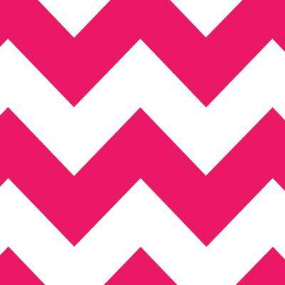 8 in. x 10 in. Laminate Sheet in Raspberry Chevron with Virtual Design Matte Finish