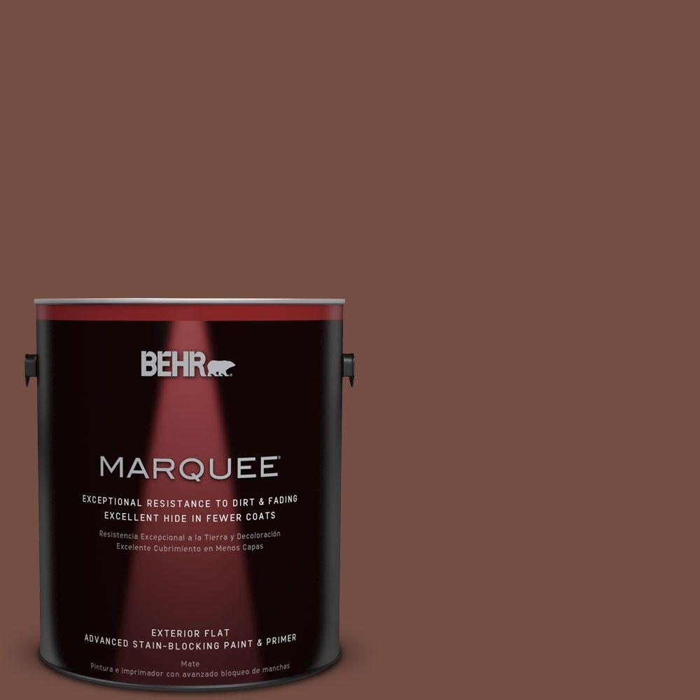 1-gal. #MQ1-62 Leather Clutch Flat Exterior Paint