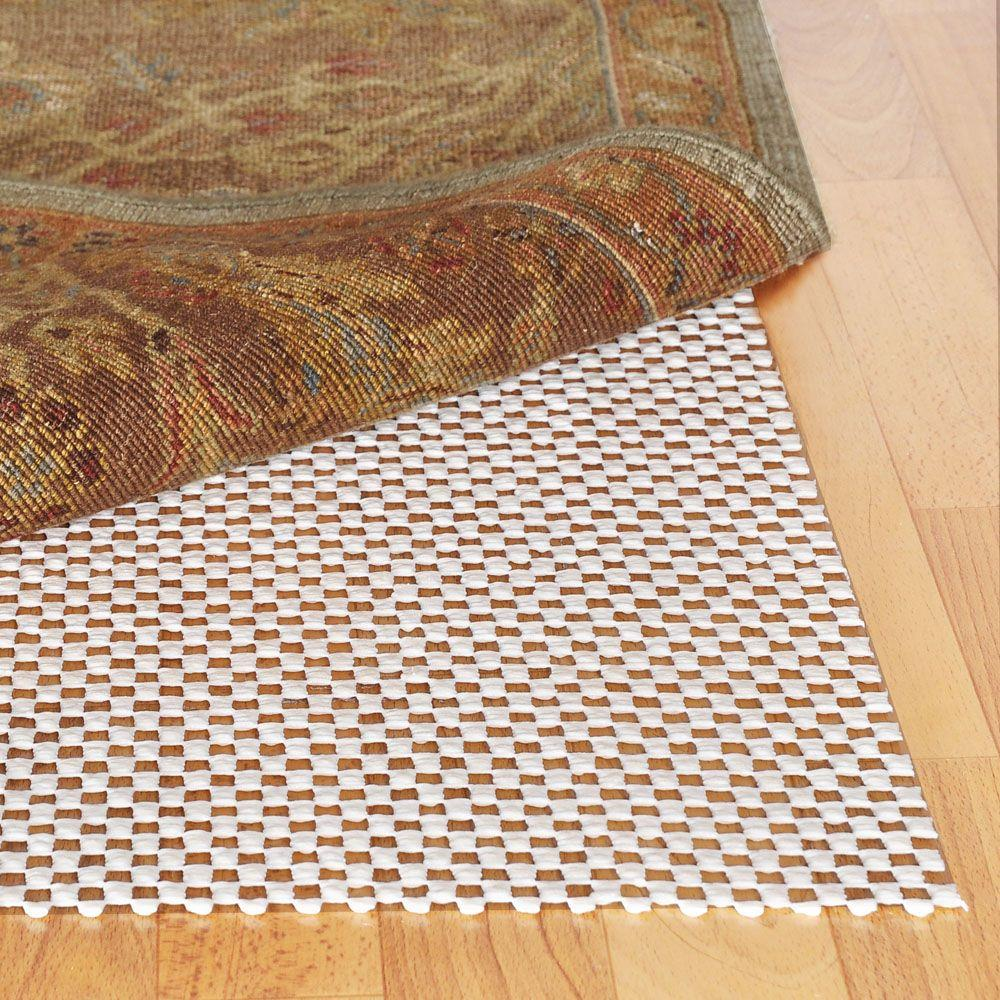 Outdoor Area Rug Pad: TrafficMASTER 8 Ft. X 10 Ft. Premium Rug Gripper Pad-380-1