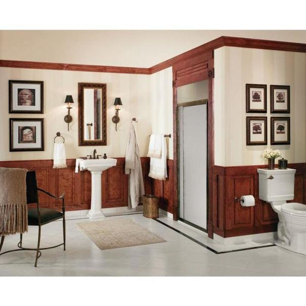 Moen Gilcrest Pivoting Double Post Toilet Paper Holder In Oil Rubbed Bronze Dn0808orb The Home Depot
