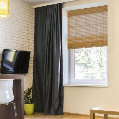 Wheat Westside Bamboo Roman Shade 60 In W X 64 L