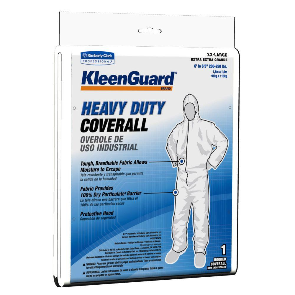 KLEENGUARD White XXL Heavy-Duty Coverall