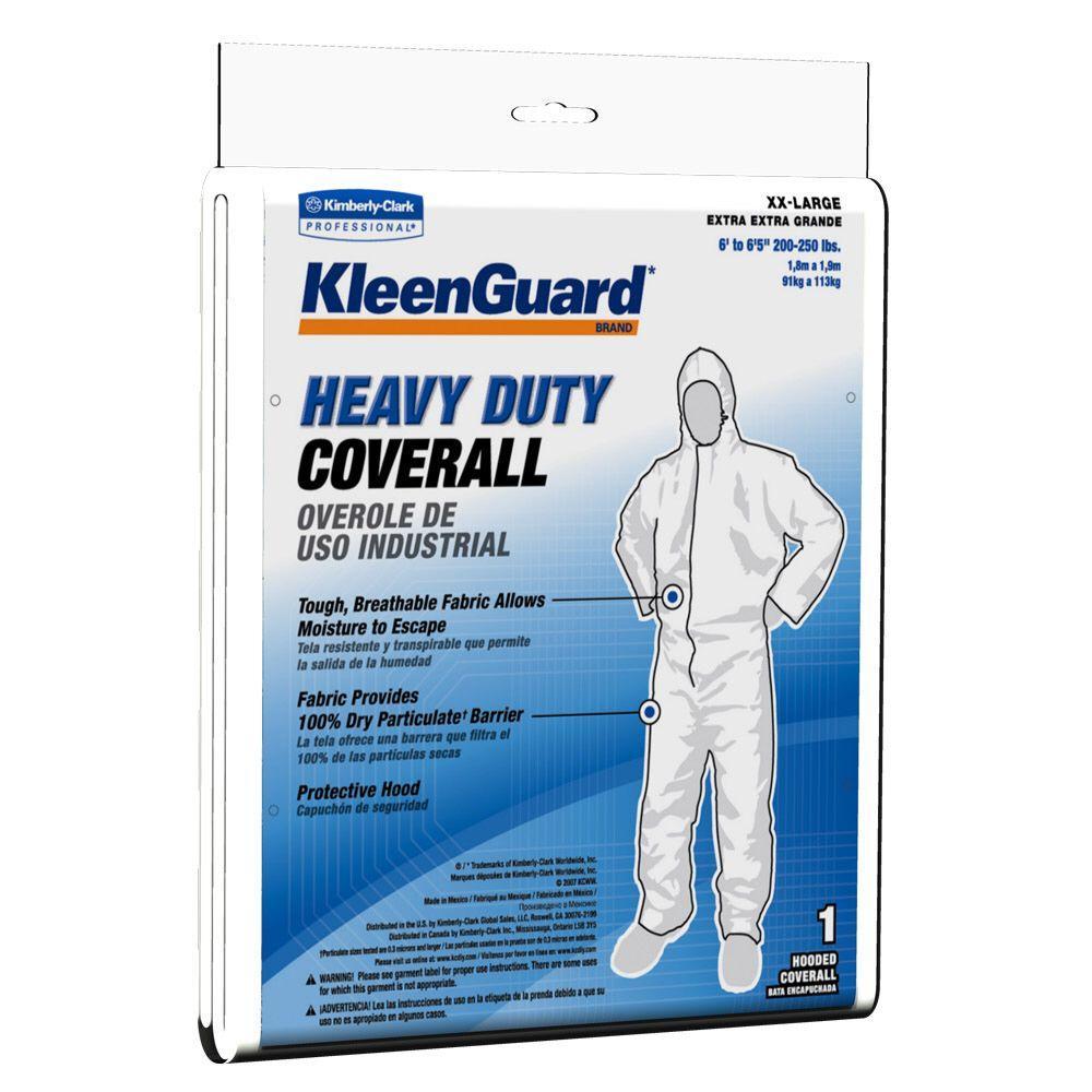 KLEENGUARD White XXL Heavy-Duty Coverall