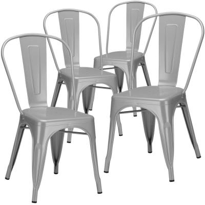 Trattoria Grey Side Chair (Set of 4)